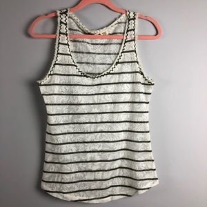 Miss Me Striped Top Size M